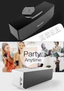 Bluedio BS-3 wireless bluetooth speaker with 3D sound for party