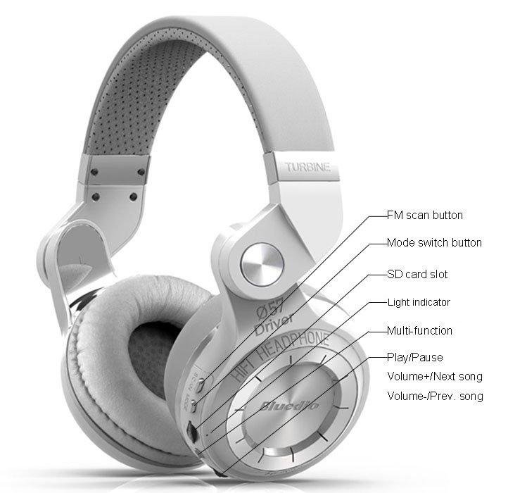 T2 plus bluetooth headphones demo