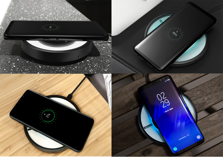 Magic Disk 4 wireless charger usage scenario