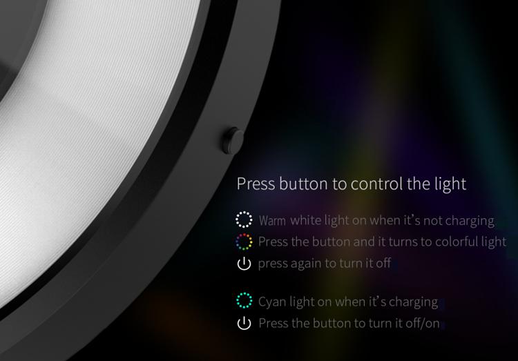 Nillkin Magic Disk 4 controllable light indicator