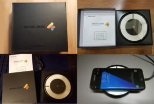 Nillkin Magic Disk 4 Qi Fast Wireless Charger unboxing pictures
