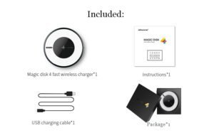 Nillkin Magic Disk 4 accessories and package