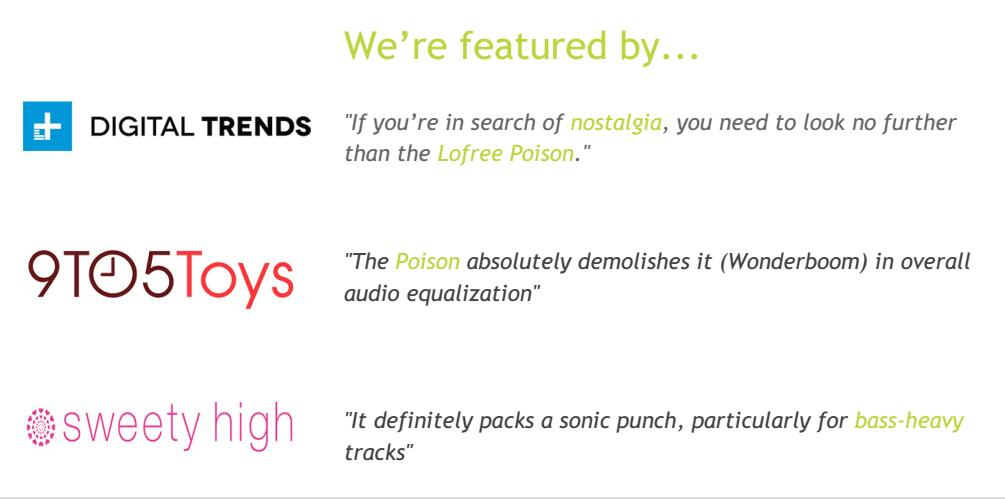 Lofree media coverage