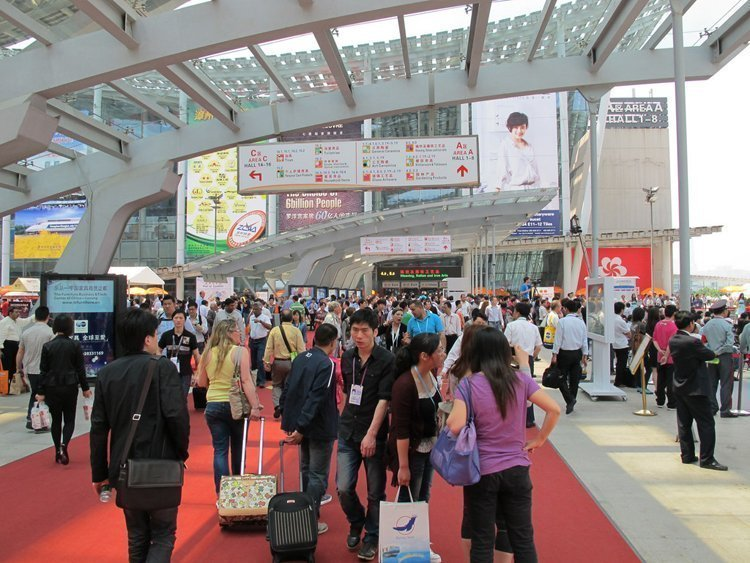 find China supplier by attending trade fairs