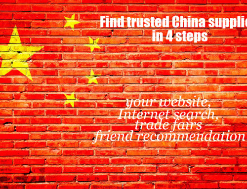 How to find trusted China supplier in 4 steps?