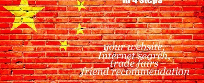 find trusted China supplier in 4 steps