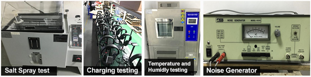 New Bee testing equipment