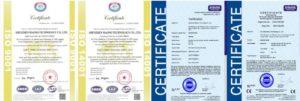 Maono-certificates